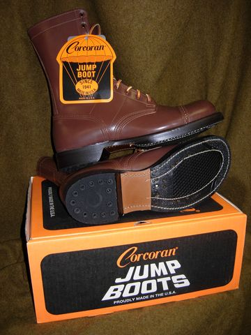 Wwii Corcoran Jump Boots New
