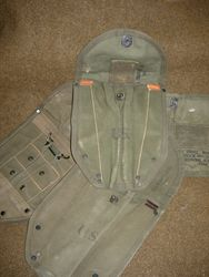 WWII ISSUED E-Tool Cover