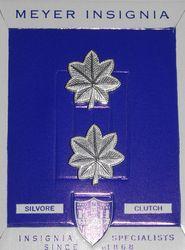 Unissued 1960;s make Lieutenant Colonel Oak Leaf Clusters - Collar Size