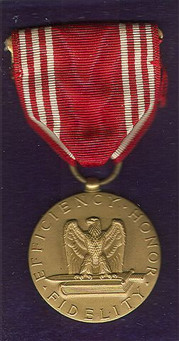 Unissued World War Ii Army Good Conduct Medal