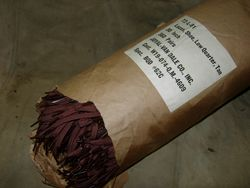 """WWII Unissued Brown Shoe Laces - 30"""""""