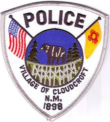 Cloudcroft Village Police Patch (NM)