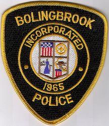 Bolingbrook Police Patch (IL)