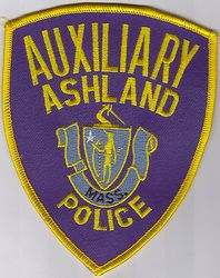Ashland Aux. Police Patch (MA)