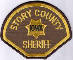 Sheriff: IA, Story Co. Sheriff Patch