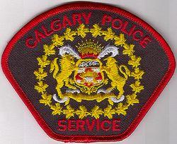 Canada: Calgary Police Patch