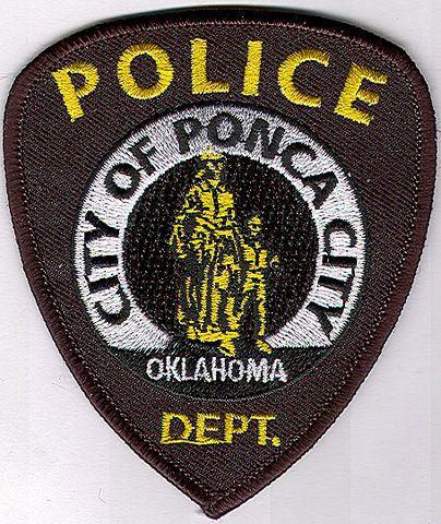 Ponca city oklahoma ok police patch insignia - Garden city michigan police department ...