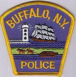 Buffalo Police Patch (cap size) (NY)