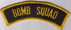 Misc: Bomb Squad Patch (tab)