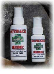 Outback Medic Survival Gear For Skin ® Emu Oil 60 ml