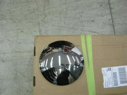 8.5 Rounded Top Chrome Plated Steel Front Hubcap 10094