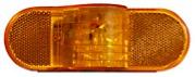 "6"" Oval Sealed LED Mid-Ship Turn Signal/Intermediate Marker Light STL75AB"