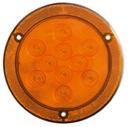 "4"" Round Sealed LED Parking/Rear Turn Signal Light with Reflex Flange STL43ABX"