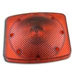 RED LAMP RECTANGULAR 7X8 11510241