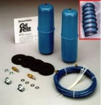 "Firestone ""Coil-Rite"" Air Bag Helper Springs (NO-DRILL) [FRONT] 1975-2010 Ford E350 / E450 Motorhome Class C 4101"