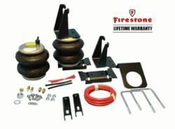"""Firestone """"Ride-Rite"""" Air Bag Helper Springs (NO-DRILL) [REAR]-1992-2011 Ford E350 Motorhome Class C (w/ Dual Rear Wheels) 2061"""