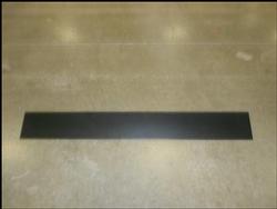 ANTI-RIDE, BUMPER, 10.25 X 60, STARLITE, BLACK 19-008-002