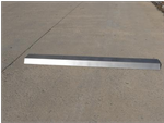 "BUMPER STAINLESS WITH ANTIRIDE, 88""19-006-004"