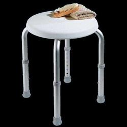 SHOWER STOOL ROUND ADJ CAREX B60011