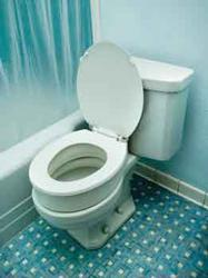 TOILET SEAT RISER ELONGATED B5081