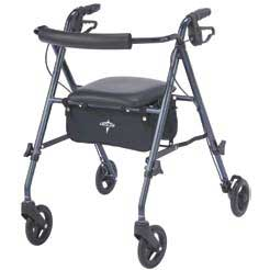 ROLLATOR ULTRA LIGHT SMOKEY BLUE MDS8682