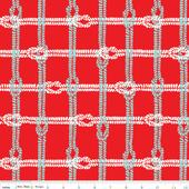 Maritime Knotty Plaid - C3294 - Red