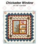 Chickadee Window by Jackie Robinson