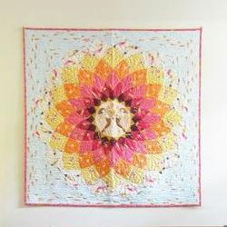 Anemone Quilt and Pillow Case by