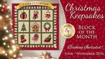 Christmas Keepsake Block of the Month Kit