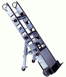 Appliance dolly stairclimber 1500 lbs capacity battery for Motorized hand truck rental