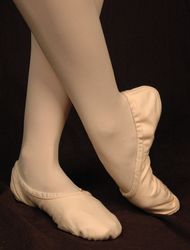 Adult Canvas Ballet Slipper - Sansha Pro 1
