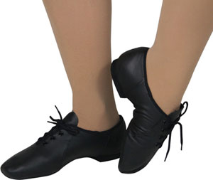 Adult Split Sole Leather Jazz Dance Shoe