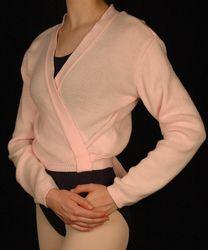Harmonie Wrap Sweater w/ Tie