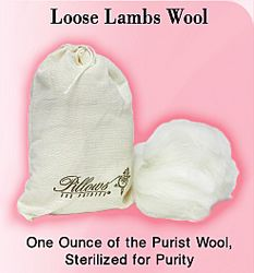 Pillows for Pointe - Loose Lambs Wool