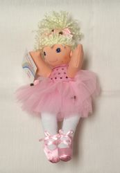 Stuffed Ballerina Doll