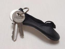 Pillows for Pointe - Mini Ballet Slipper Key Ring
