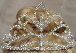 Large Crystal Tiara