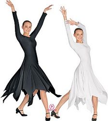 Adult Handkerchief Dress w/ Princess Seams