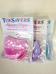 Toe Savers Skinny Dips M/L