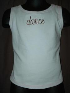 Kids Sleeveless Dance Tank