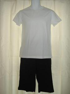 Mens Crew Neck Shirt and Bermuda Shorts