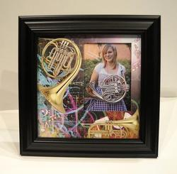 Horn Picture Frame