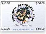 $50.00 Gift Certificate