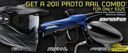 2011 PMR Combo- Rail, Primo Loader, and Switch EL Goggle