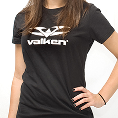 Valken Womens Logo Crew Neck T-Shirt
