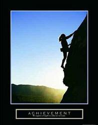 Achievement Climber Poster 22x28