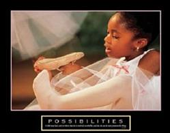Possibilities Ballet Poster 28x22