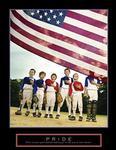 American Pride Baseball Poster 22x28