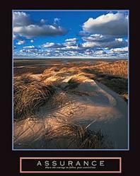 Assurance Sand Dunes Poster 22x28