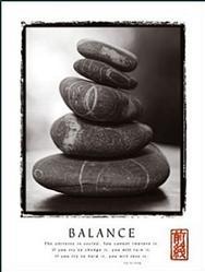 Balance Rocks Poster 22x28